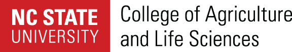 NC State University College of Agriculture and Life Sciences logo image