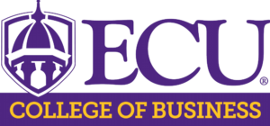 ECU College of Business logo image