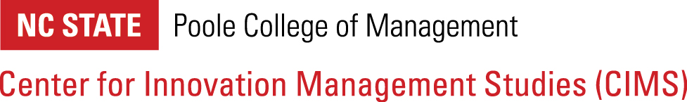 NC State Poole College of Management Center for Innovation Management Studies logo image
