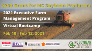 Cover photo for NC Soybean Producers Association Sponsors Executive Farm Management Program